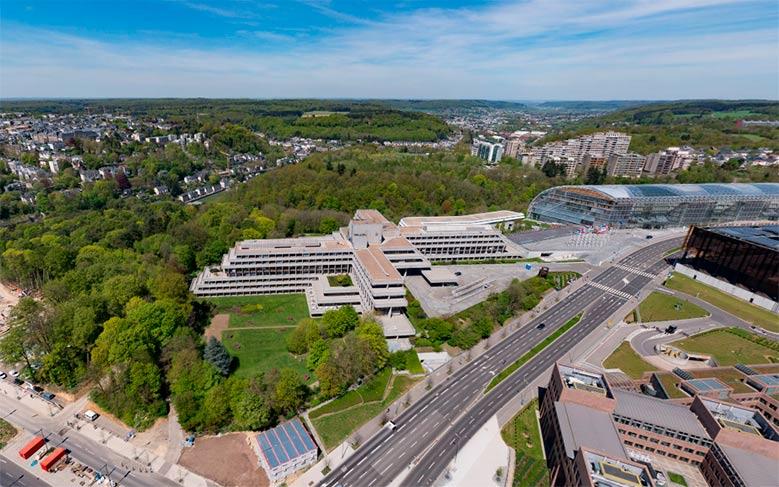 Tribunal de Justicia de la Unión Europea en Luxemburgo.