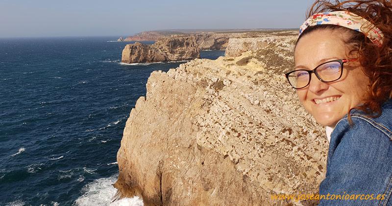 Ana Rubio en el Algarve, Portugal.