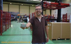 Julio Domingos, técnico Central Frutas do Painho.