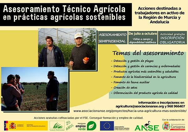 Cursos agricultura sostenible. ANSE.