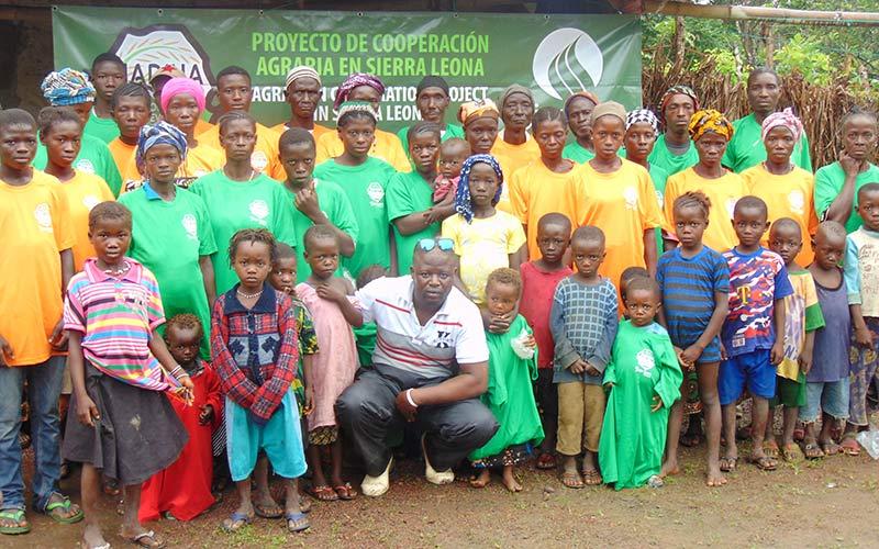 Proyecto de cooperación agraria Sierra Leona.