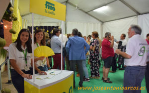 Expositor de Semillas Fitó en Ferimel 2018.