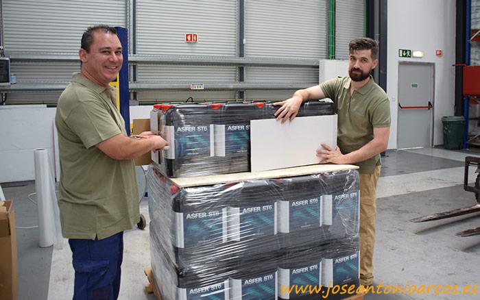 Fábrica de Asfertglobal en Portugal.