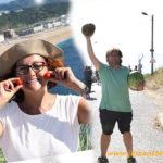 Desde Santarém hasta Nazaré y en la maleta melón y sandía española