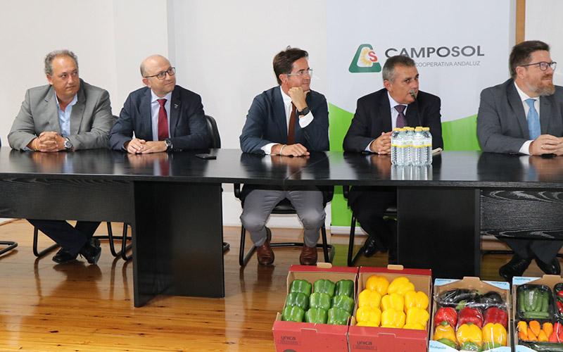 Cooperativa Camposol en El Ejido.