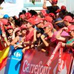 Carrefour y la Vuelta Ciclista