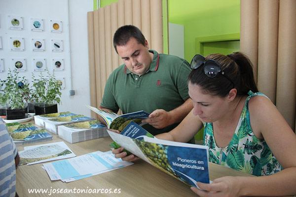 Francis Sánchez y Alicia Giménez, agricultores de El Ejido.