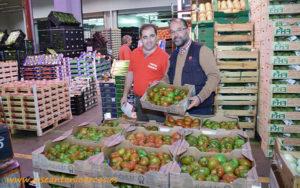 Frutas Mayde y Frutas Roberto en Mercamadrid.