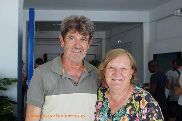 Manuel y Dolores, agricultores almerienses.