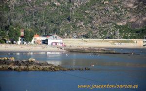 Playa de Ézaro. Galicia.