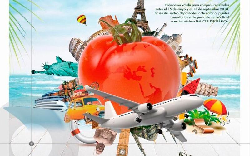 Sorteo de un viaje entre los productores de tomate de HM Clause
