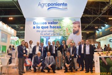 Agroponiente presenta su nueva imagen corporativa en Fruit Attraction