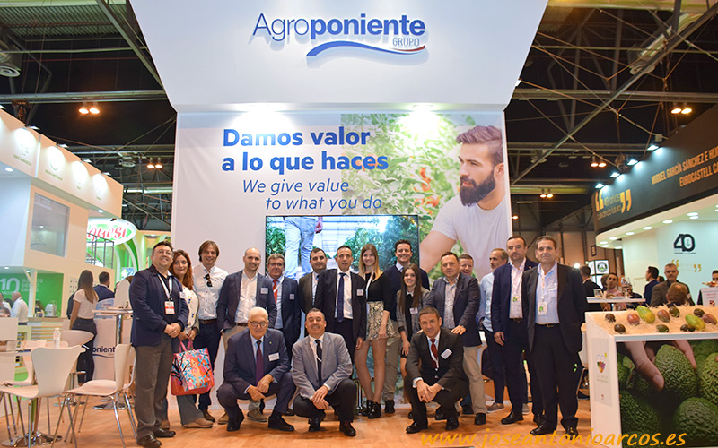 Agroponiente presenta su nueva imagen corporativa en Fruit Attraction