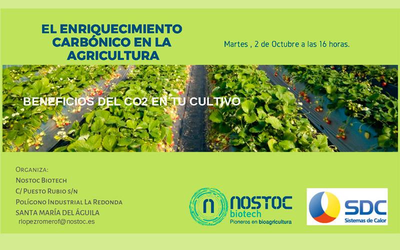 Día 2 de octubre. Jornada sobre CO2 en invernaderos