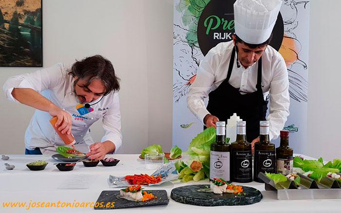 El chef Tony García con Ricardo Ortiz, RZ.