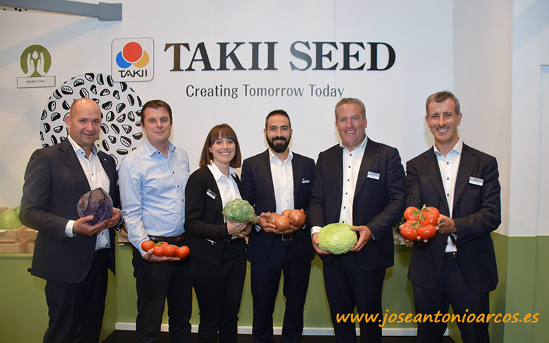 Equipo de Takii Seed en Fruit Attraction 2018.