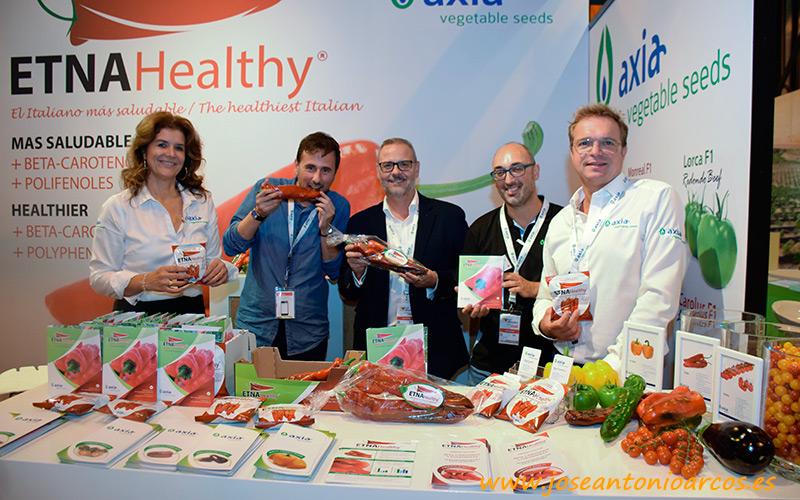 Axia Semillas presenta su marca Etna Healthy
