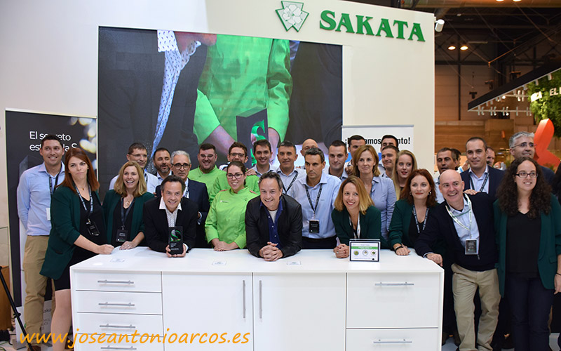 Premios Sakata en Fruit Attraction 2018.