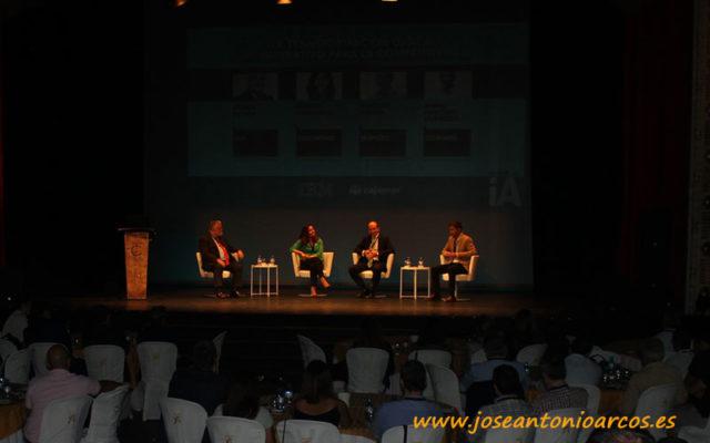 IBM y Cajamar en el Teatro Cervantes de Almería.