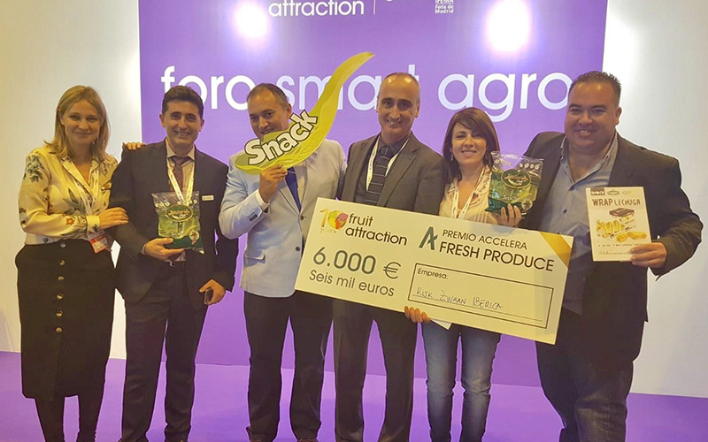 El Premio Accelera come Lechuga Snack