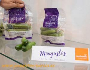 """Pepinos minis """"minigustos"""" de Nunhems de BASF."""
