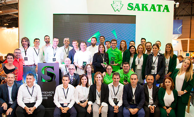 Premios Sakata en Fruit Attraction 2018
