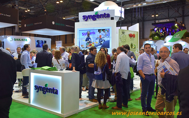 Syngenta repetirá en Fruit Attraction con un doble expositor