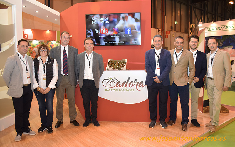Equipo de HM Clause en Fruit Attraction 2018.