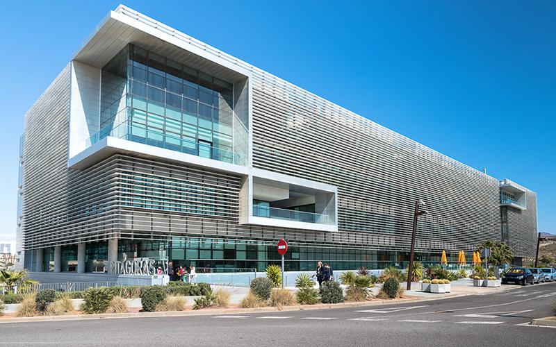 Edificio Pitágoras, sede del PITA en Almería.