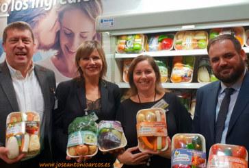 Las bandejas biodegradables con verduras de Anecoop