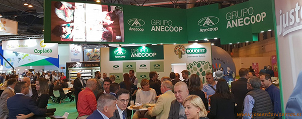 Anecoop en Fruit Attraction 2018.