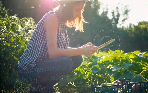 Vídeo la transformación digital en la agricultura española.
