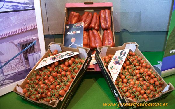 Gaobe Agrícola. Tomates y pimientos de Almería.