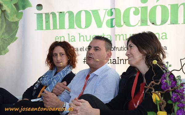 Cristina Adrove, Javier Soto y Silvia Cifre.