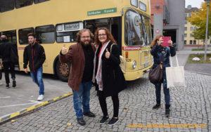 José Antonio Arcos y Ana Rubio en Berlín con Love My Salad!
