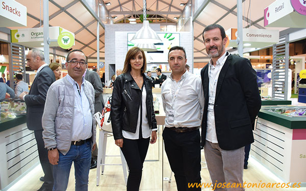 Seragra y CultiAgro con la cooperativa Horsal. Galicia en Fruit Attraction.