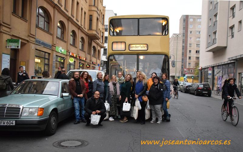 Foto de familia con los food blogger reunidos en Berlín por Love My Salad!