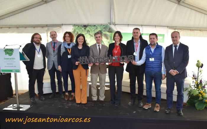 José Antonio Arcos presenta la mesa redonda #MurciaInnova organizada por BASF y Proexport en Murcia.
