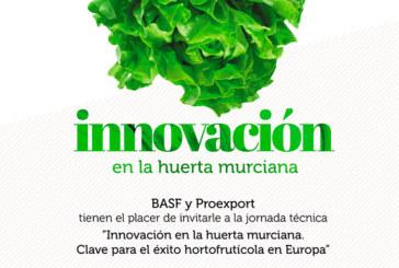Día 27 de noviembre. Jornada sobre la 'Innovación en la huerta murciana'