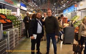 Jordi Arenas, productor del Maresme en Barcelona.