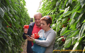 Juan y Ana, agricultores.