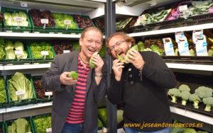 Jörg Werner, Retail Center Rijk Zwaan Berlín, lechuga snack.