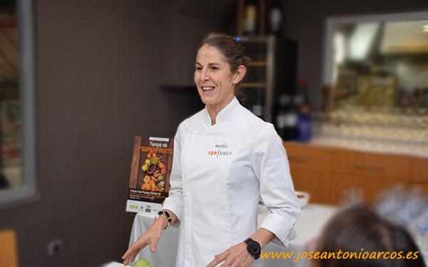 Chef María Espín.