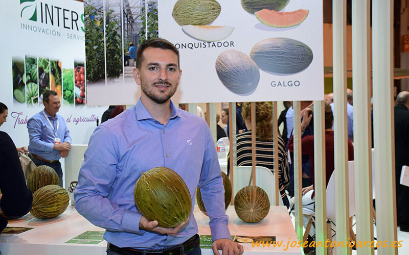 Pablo Pérez en Fruit Attraction 2018.