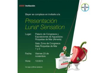 Día 23 de noviembre. Presentación de Luna Sensation de Bayer