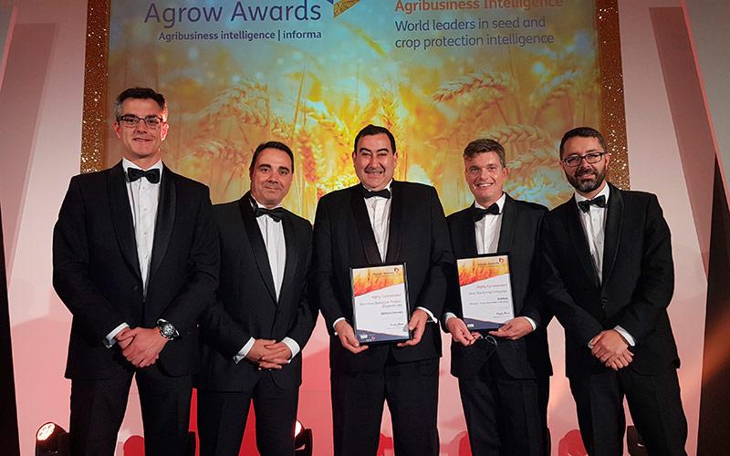 Seipasa vuelve a ser reconocida en los premios Agrow Awards