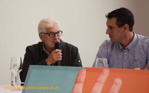Francisco López, Agroponiente, e Iván Alonso, Syngenta.