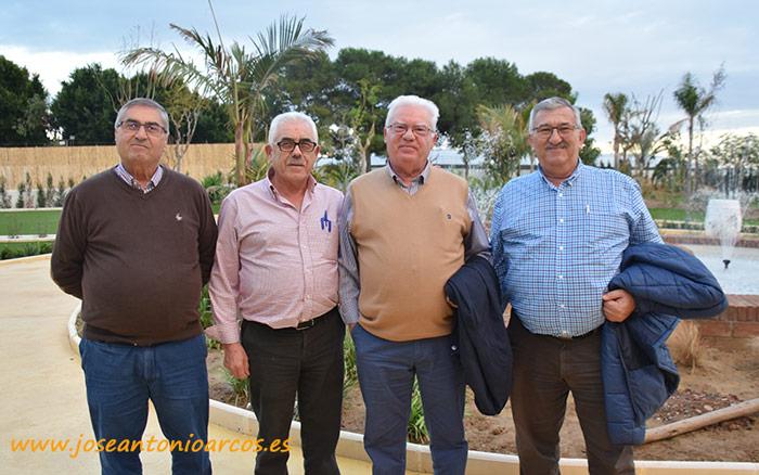 Compradores históricos del campo almeriense. De izquierda a derecha, Juan Sánchez López, Cayetano Moya, Pedro Rojas y Damián Pérez.