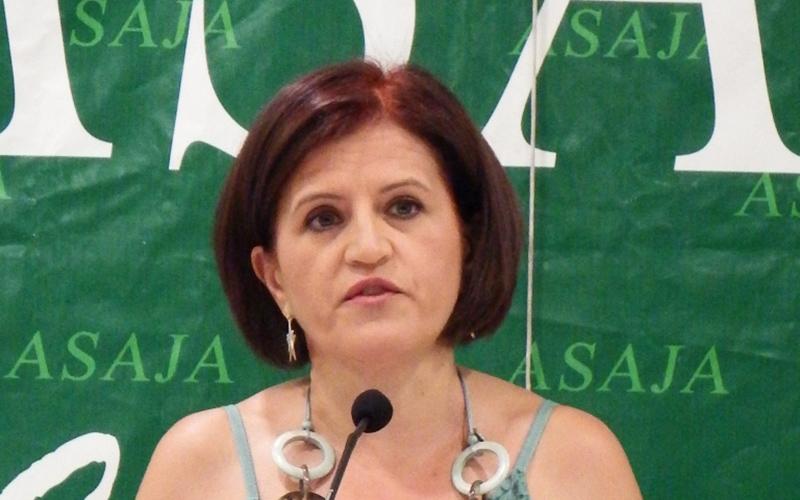 Adoración Blanque, secretaria general de Asaja Almería.
