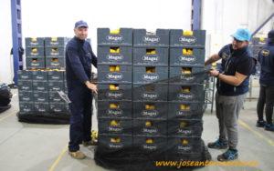 Exportación de pimiento a Estados Unidos.